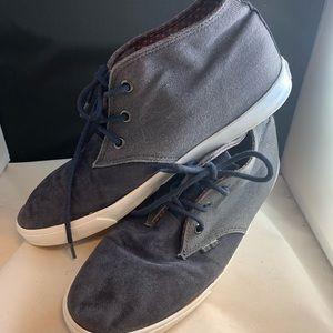Ben Sherman 2 Toned CanvasChukka Sneaker Sz 8.5